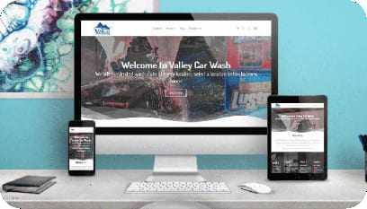 Site responsivo desenvolvido durante o curso de Web Designer