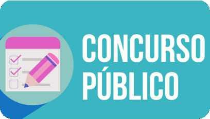 Imagem com a palavra concurso público escrita.